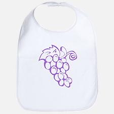 Grape Traipse Bib