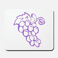 Grape Traipse Mousepad