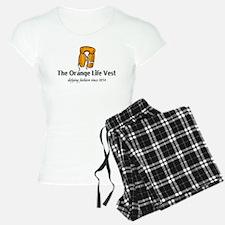 Orange Life Vest humor Pajamas
