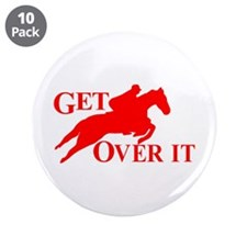 """GET OVER IT 3.5"""" Button (10 pack)"""