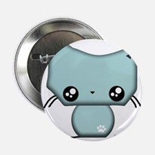 "Omanju Neko Blue 2.25"" Button"