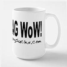 FRAG WoW - Large Mug