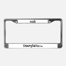 Gaming Sucks License Plate Frame