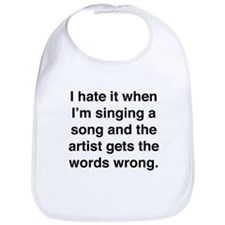 Singing a Song Bib