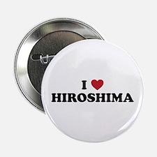 """I Love Hiroshima 2.25"""" Button"""