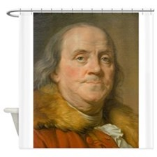 Founding Father: Benjamin Franklin Shower Curtain