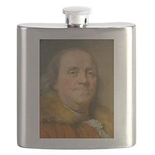 Founding Father: Benjamin Franklin Flask