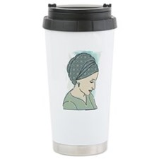 Veiled Lady 1 Travel Mug