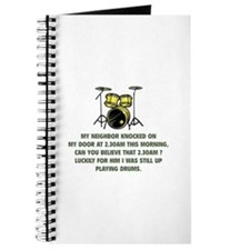 Still Up Playing Drums Journal
