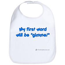 My First Word Bib