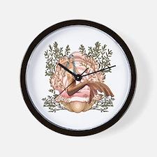 Mermaid's Pearl Wall Clock