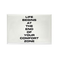 Comfort Zone Rectangle Magnet