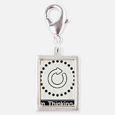 Peace Love Dalmatians Oval Car Magnet