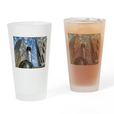 Soul of NY Digital Art Series Drinking Glass