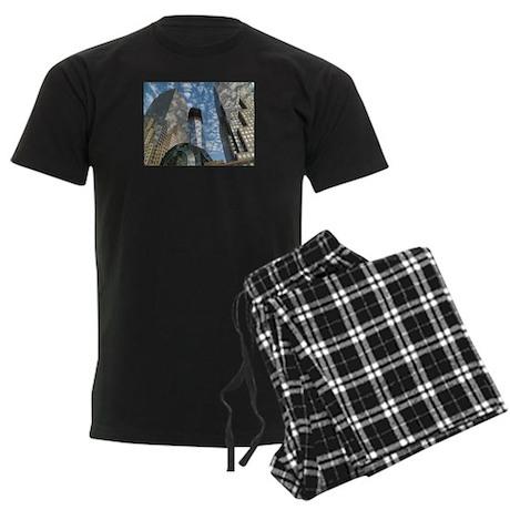 Soul of NY Digital Art Series Men's Dark Pajamas