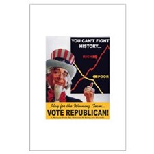 Bush's Economy Huge Poster