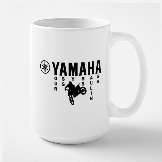 Yamaha Black Large Mug
