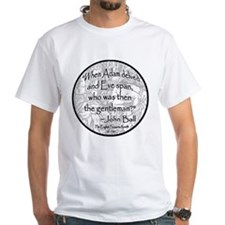 English Peasant Protest Button Shirt