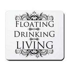 Floating Drinking Living Mousepad