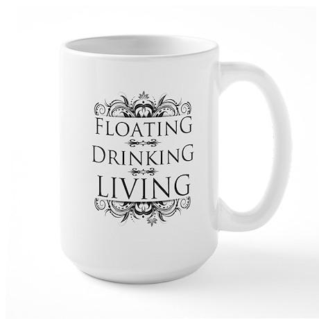 Floating Drinking Living Large Mug
