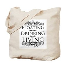 Floating Drinking Living Tote Bag