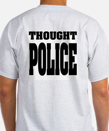 Thought Police2 Ash Grey T-Shirt