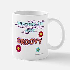 Wrinkles Are Groovy Mug