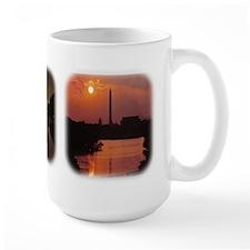 Washington Monument at night Mug