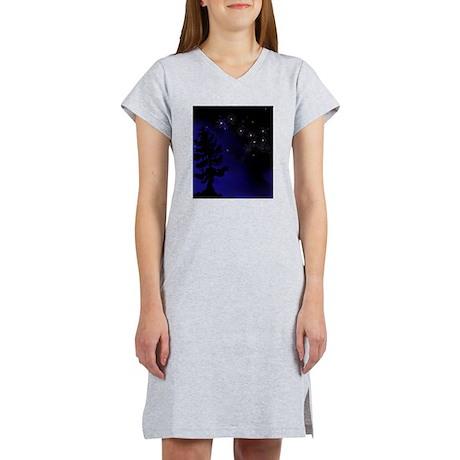 Step Up To Seven Stars Tai Chi T-Shirt Women's Nig