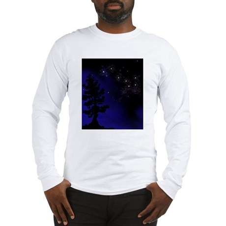 Step Up To Seven Stars Tai Chi T-Shirt Long Sleeve