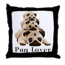 Pug Lover 3 Pug Stack