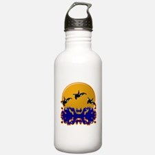 Orcas at Play Water Bottle