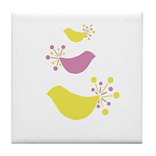 Beautiful Birds Tile Coaster