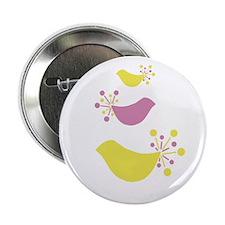 "Beautiful Birds 2.25"" Button"