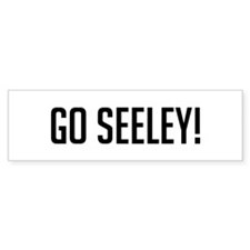 Go Seeley Bumper Bumper Sticker