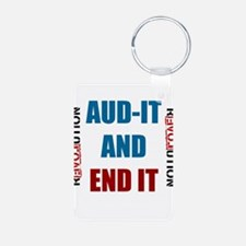 AUDIT and END IT! END THE FED! Keychains