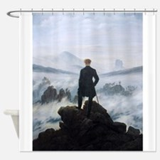 Caspar David Friedrich Wanderer Shower Curtain