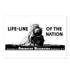 Life-Line Of the Nation 1940 Postcards (Package of