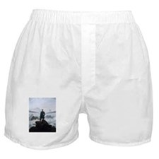 Caspar David Friedrich Wanderer Boxer Shorts