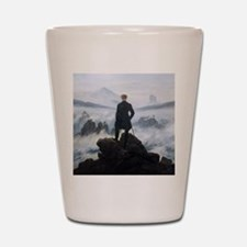Caspar David Friedrich Wanderer Shot Glass