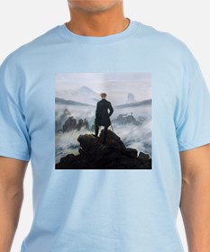 Caspar David Friedrich Wanderer T-Shirt