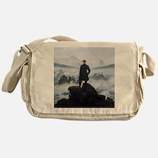 Caspar David Friedrich Wanderer Messenger Bag