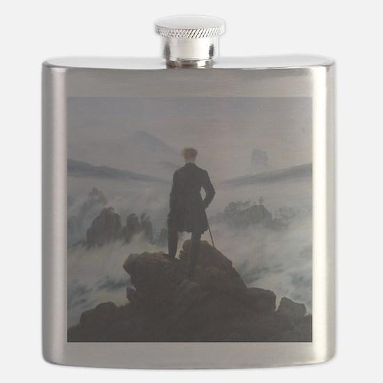 Caspar David Friedrich Wanderer Flask