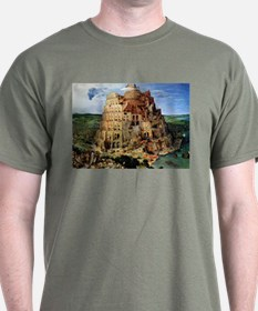 Pieter Bruegel the Elder Tower of Babel T-Shirt
