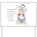 Romney The Bully Cuts Ellens Hair Yard Sign