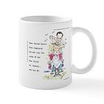Romney The Bully Cuts Ellens Hair Mug