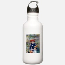 Pierre-Auguste Renoir Two Sisters Water Bottle