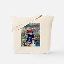 Pierre-Auguste Renoir Two Sisters Tote Bag