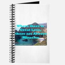 Where There Is Great Love Journal