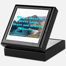 Where There Is Great Love Keepsake Box